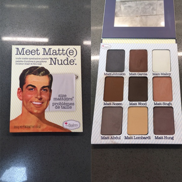 theBalm Other - Meet Matte Nude Eyeshadow Palette by theBalm